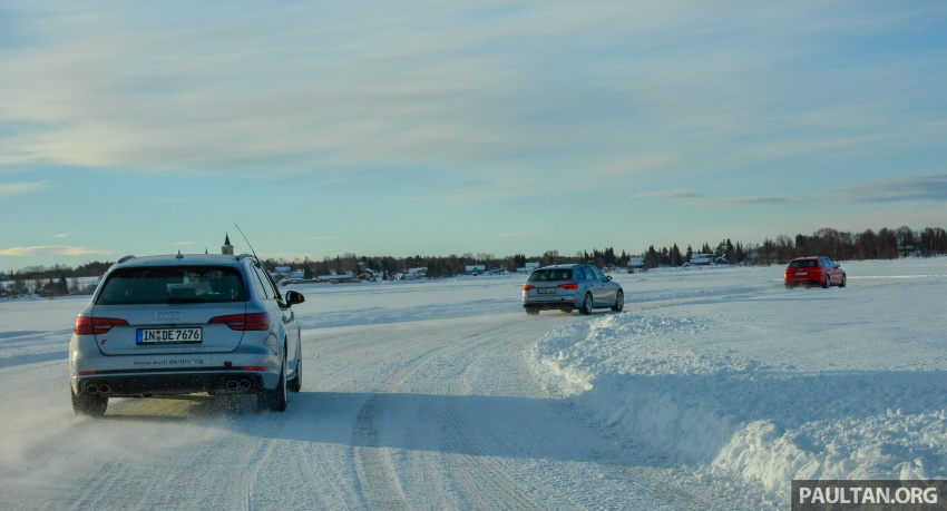 Audi Ice Driving Experience Finland with the S4 Avant – learning to drive in the winter with the aid of quattro Image #769978