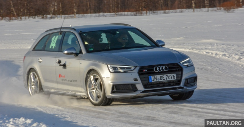 Audi Ice Driving Experience Finland with the S4 Avant – learning to drive in the winter with the aid of quattro Image #769979