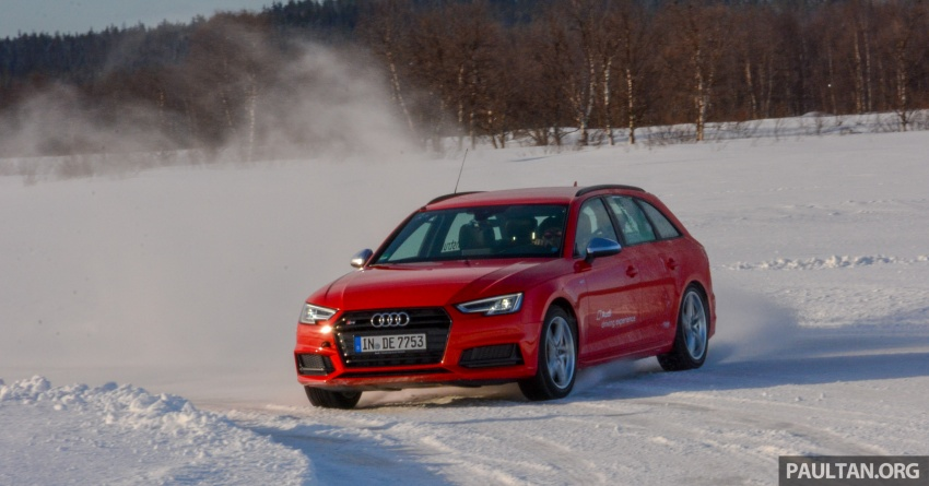 Audi Ice Driving Experience Finland with the S4 Avant – learning to drive in the winter with the aid of quattro Image #769980