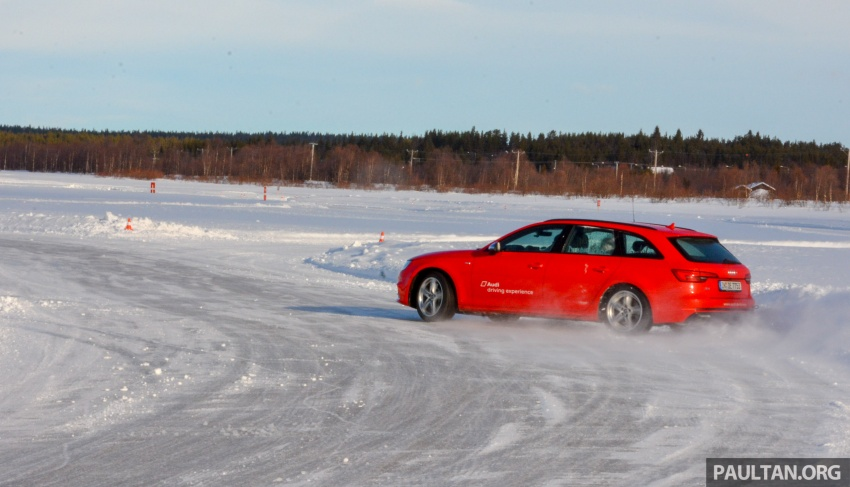 Audi Ice Driving Experience Finland with the S4 Avant – learning to drive in the winter with the aid of quattro Image #769981