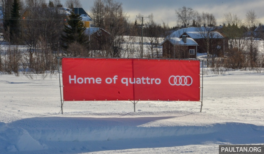 Audi Ice Driving Experience Finland with the S4 Avant – learning to drive in the winter with the aid of quattro Image #769982