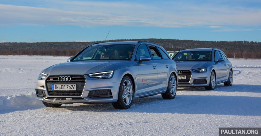 Audi Ice Driving Experience Finland with the S4 Avant – learning to drive in the winter with the aid of quattro Image #769983