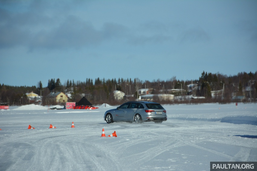 Audi Ice Driving Experience Finland with the S4 Avant – learning to drive in the winter with the aid of quattro Image #769984