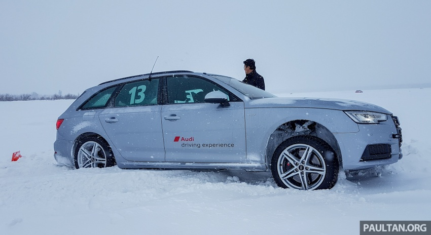Audi Ice Driving Experience Finland with the S4 Avant – learning to drive in the winter with the aid of quattro Image #769989