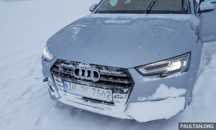 Audi Ice Driving Experience Finland with the S4 Avant – learning to drive in the winter with the aid of quattro Image #769991