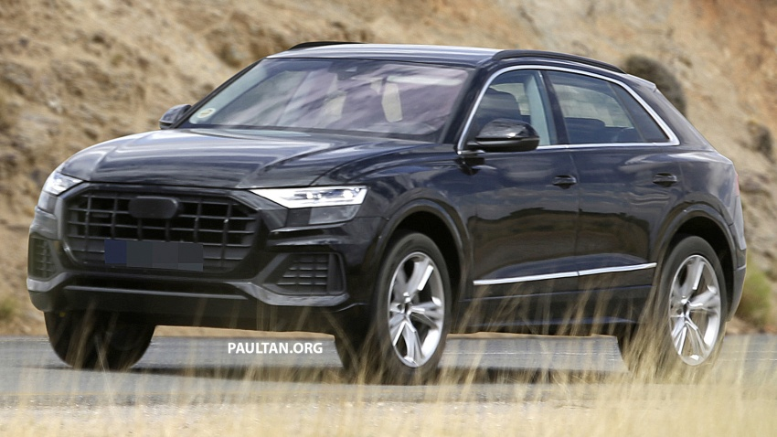 SPYSHOTS: Audi Q8 almost completely undisguised Image #758040