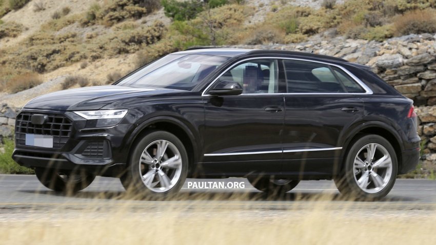 SPYSHOTS: Audi Q8 almost completely undisguised Image #758042