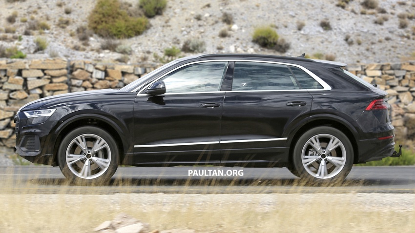 SPYSHOTS: Audi Q8 almost completely undisguised Image #758043