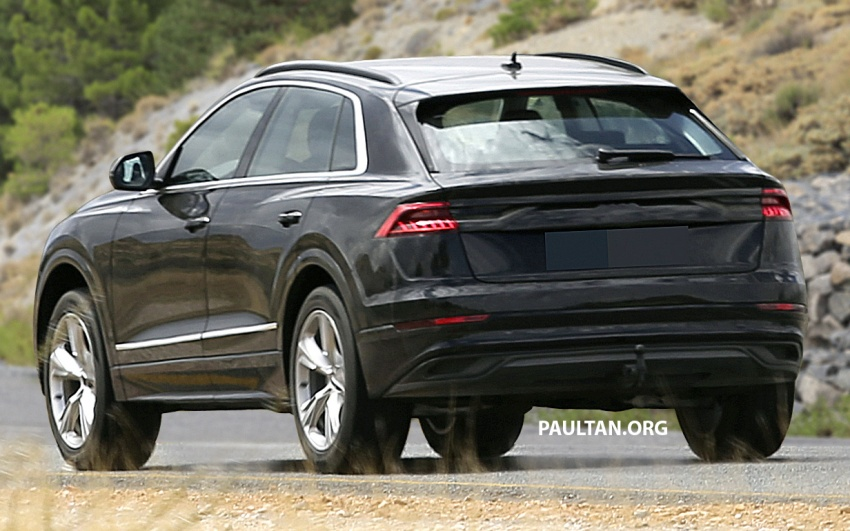 SPYSHOTS: Audi Q8 almost completely undisguised Image #758045