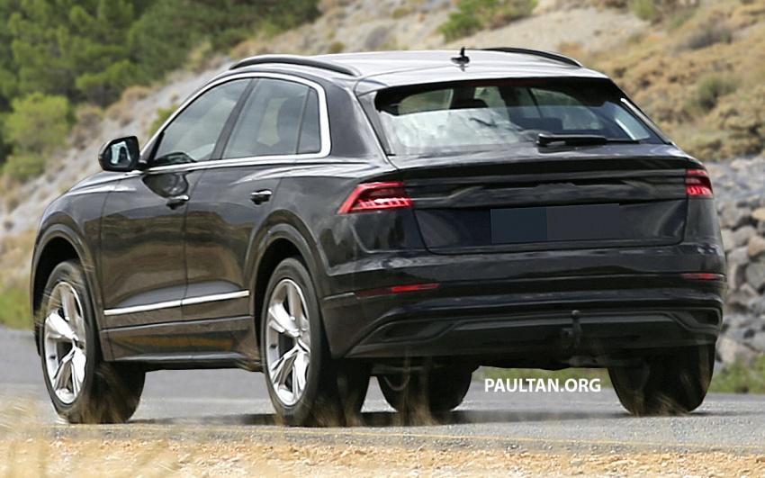 SPYSHOTS: Audi Q8 almost completely undisguised Image #758045