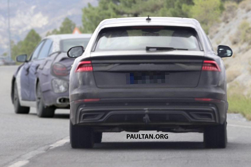 SPYSHOTS: Audi Q8 almost completely undisguised Image #758046