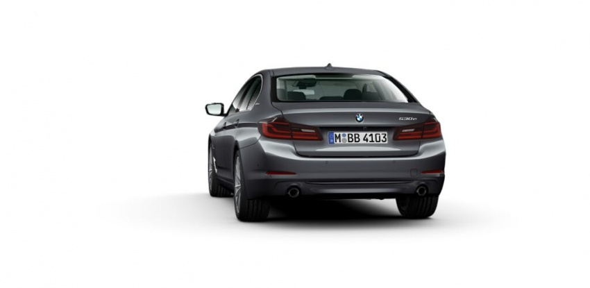 BMW 530e iPerformance plug-in hybrid launched in Malaysia – 252 hp, 0-100 km/h in 6.2 secs, RM344k Image #765400