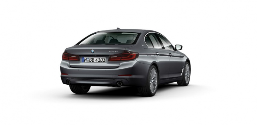 BMW 530e iPerformance plug-in hybrid launched in Malaysia – 252 hp, 0-100 km/h in 6.2 secs, RM344k Image #765403