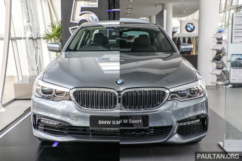 GALLERY: BMW 530e iPerformance plug-in vs 530i Image #769876