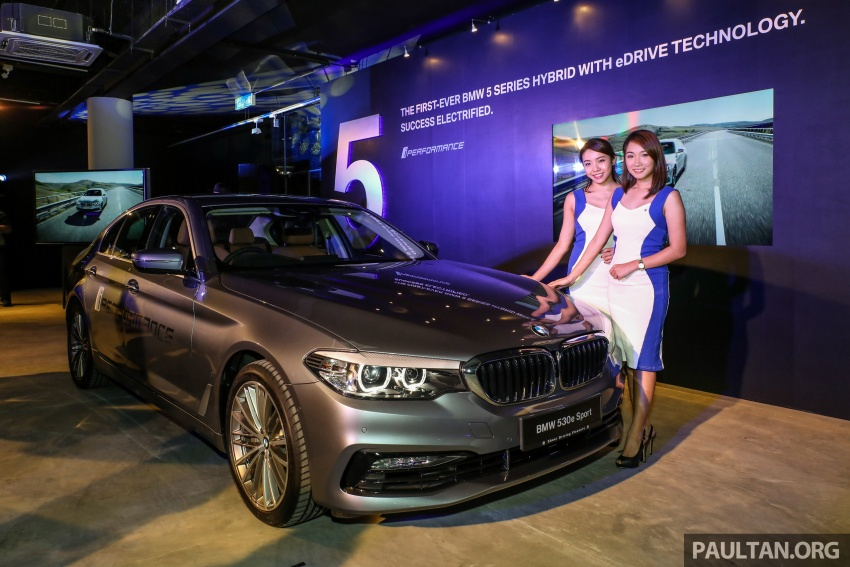 BMW 530e iPerformance plug-in hybrid launched in Malaysia – 252 hp, 0-100 km/h in 6.2 secs, RM344k Image #766758