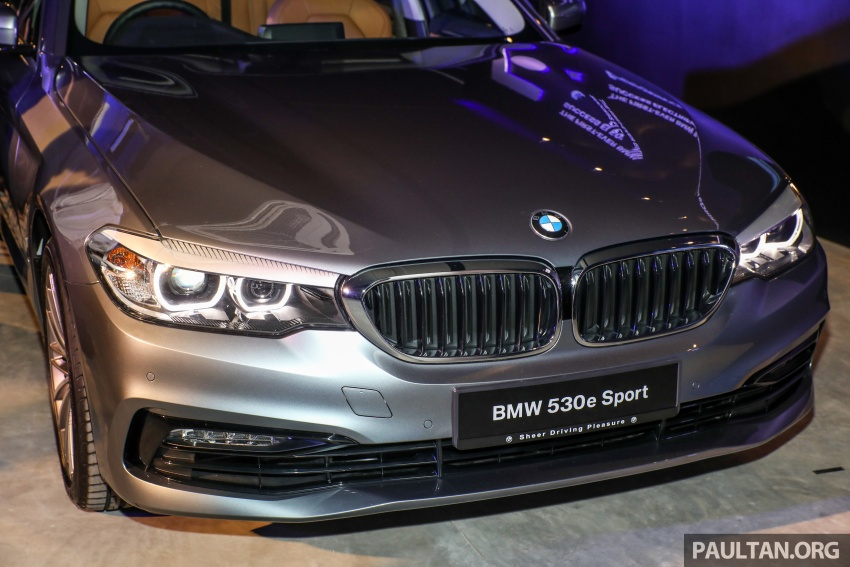BMW 530e iPerformance plug-in hybrid launched in Malaysia – 252 hp, 0-100 km/h in 6.2 secs, RM344k Image #766767