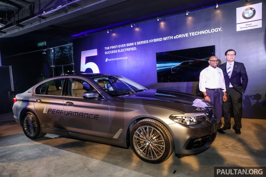 BMW 530e iPerformance plug-in hybrid launched in Malaysia – 252 hp, 0-100 km/h in 6.2 secs, RM344k Image #766759