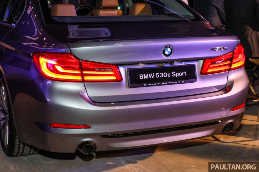 BMW 530e iPerformance plug-in hybrid launched in Malaysia – 252 hp, 0-100 km/h in 6.2 secs, RM344k Image #766785