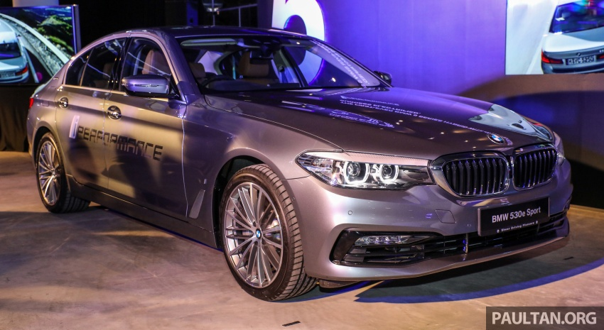 BMW 530e iPerformance plug-in hybrid launched in Malaysia – 252 hp, 0-100 km/h in 6.2 secs, RM344k Image #766760