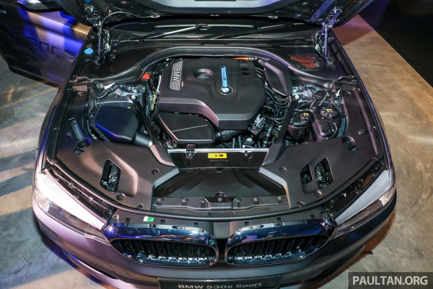 BMW 530e iPerformance plug-in hybrid launched in Malaysia – 252 hp, 0-100 km/h in 6.2 secs, RM344k Image #766837