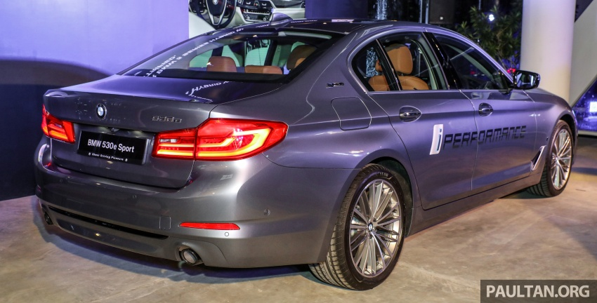 BMW 530e iPerformance plug-in hybrid launched in Malaysia – 252 hp, 0-100 km/h in 6.2 secs, RM344k Image #766762