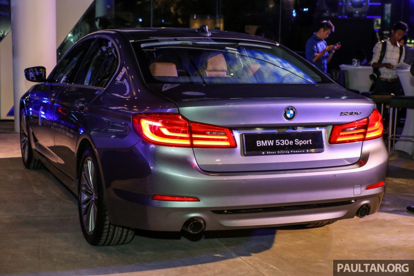 BMW 530e iPerformance plug-in hybrid launched in Malaysia – 252 hp, 0-100 km/h in 6.2 secs, RM344k Image #766763