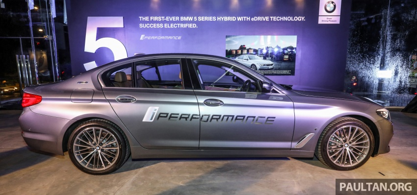 BMW 530e iPerformance plug-in hybrid launched in Malaysia – 252 hp, 0-100 km/h in 6.2 secs, RM344k Image #766764