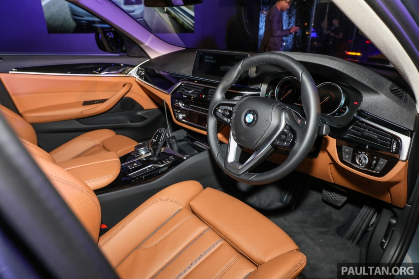 BMW 530e iPerformance plug-in hybrid launched in Malaysia – 252 hp, 0-100 km/h in 6.2 secs, RM344k Image #766850