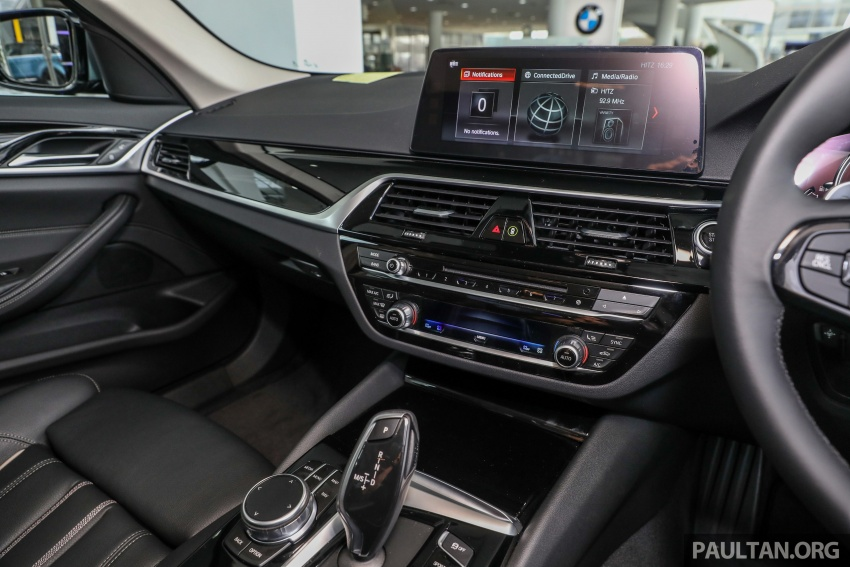 GALLERY: BMW 530e iPerformance plug-in vs 530i Image #769799