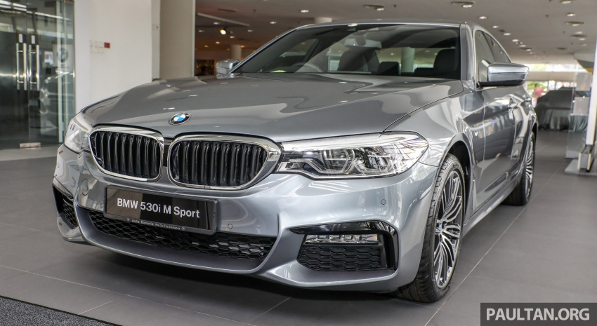 GALLERY: BMW 530e iPerformance plug-in vs 530i Image #769817