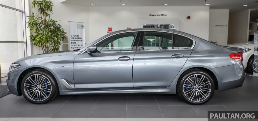 GALLERY: BMW 530e iPerformance plug-in vs 530i Image #769818