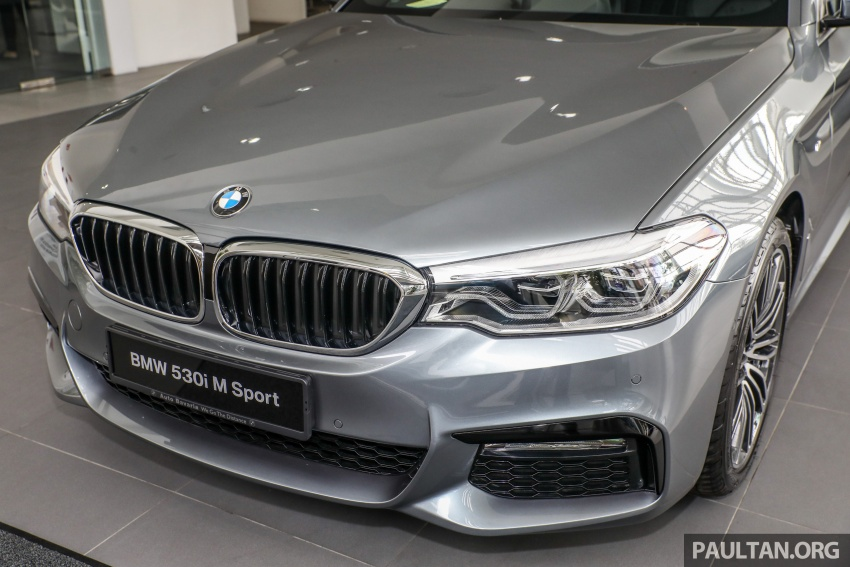 GALLERY: BMW 530e iPerformance plug-in vs 530i Image #769820