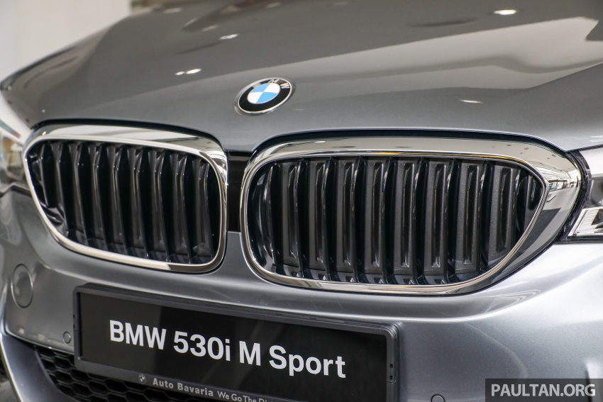 GALLERY: BMW 530e iPerformance plug-in vs 530i Image #769823