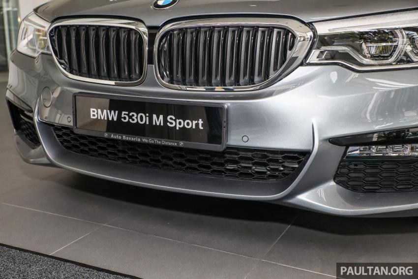 GALLERY: BMW 530e iPerformance plug-in vs 530i Image #769824