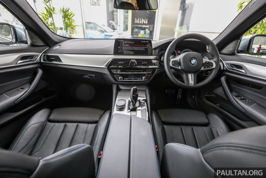 GALLERY: BMW 530e iPerformance plug-in vs 530i Image #769835
