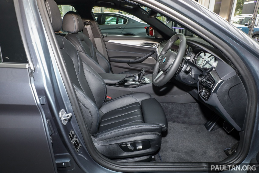 GALLERY: BMW 530e iPerformance plug-in vs 530i Image #769847