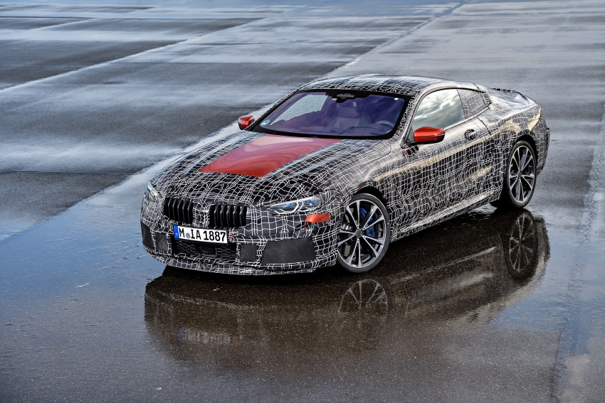 BMW 8 Series Coupe teased ahead of official debut Image #770503