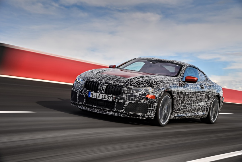 BMW 8 Series Coupe teased ahead of official debut Image #770513