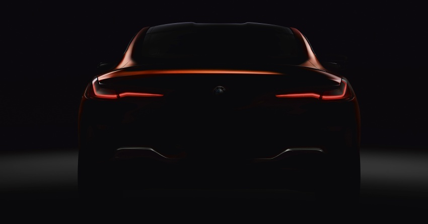 BMW 8 Series Coupe teased ahead of official debut Image #770527
