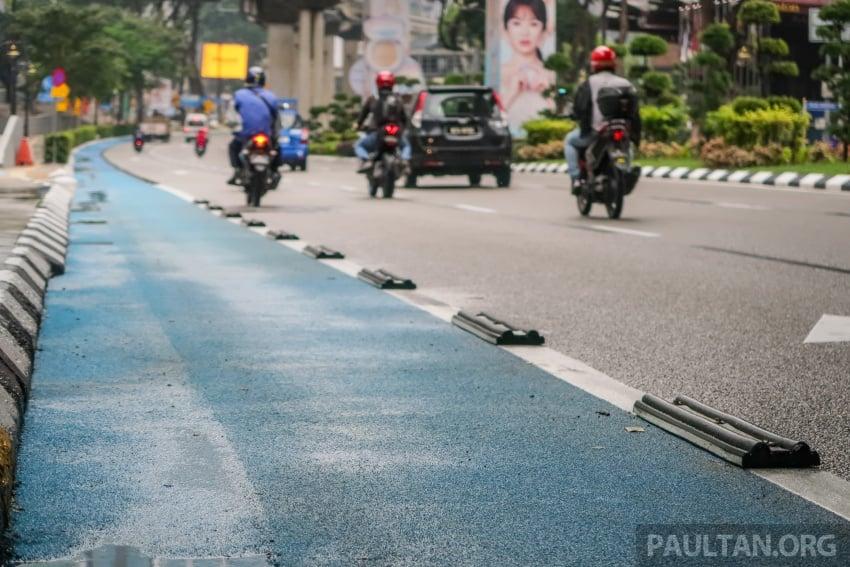 DBKL to remove cycling lane separators immediately Image #769016