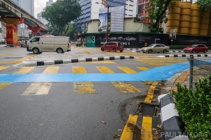 DBKL to remove cycling lane separators immediately Image #769018