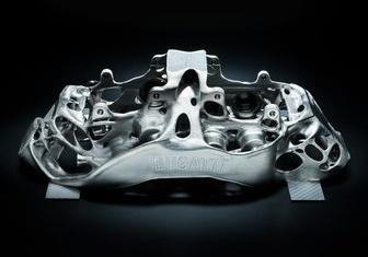 Bugatti hasilkan angkup brek titanium cetakan 3D Image #769261