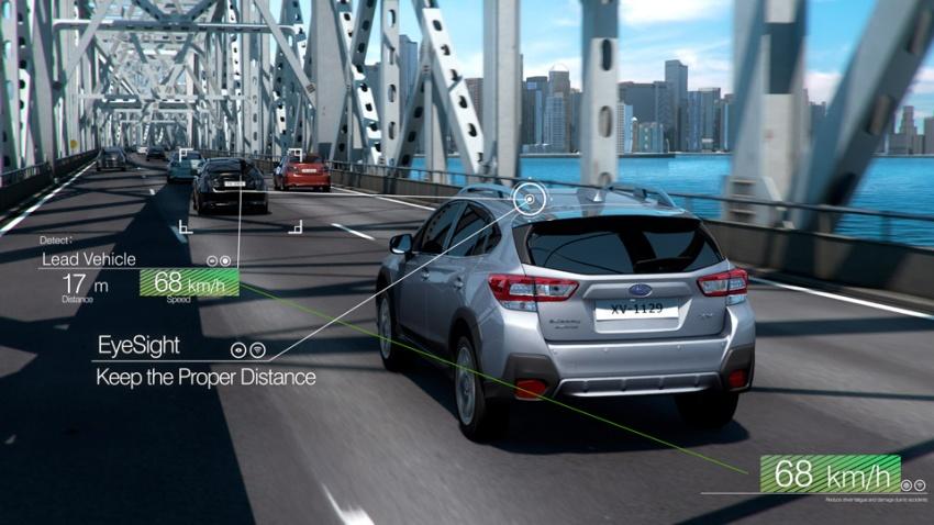 Subaru EyeSight safety system makes ASEAN debut Image #759659