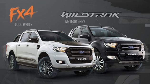 The Ford Ranger Has Been A Perennial Bestseller For Malaysia And It Is Set To Offer Buyers Additional Options With Inclusion Of New Colours