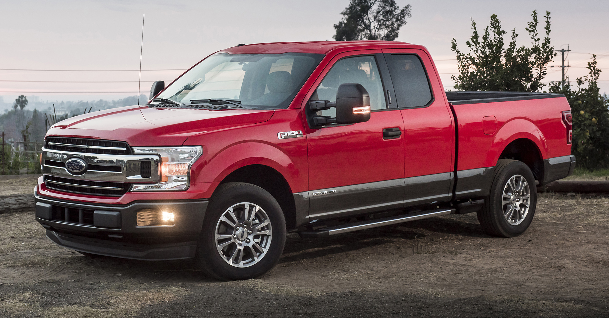 ford f 150 receives power stroke 3 0 litre diesel engine 250 hp 597 nm 5 7 tonne towing capacity. Black Bedroom Furniture Sets. Home Design Ideas