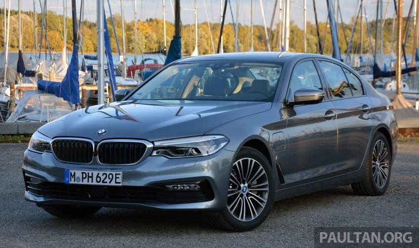 DRIVEN: G30 BMW 530e iPerformance plug-in hybrid Image #758353