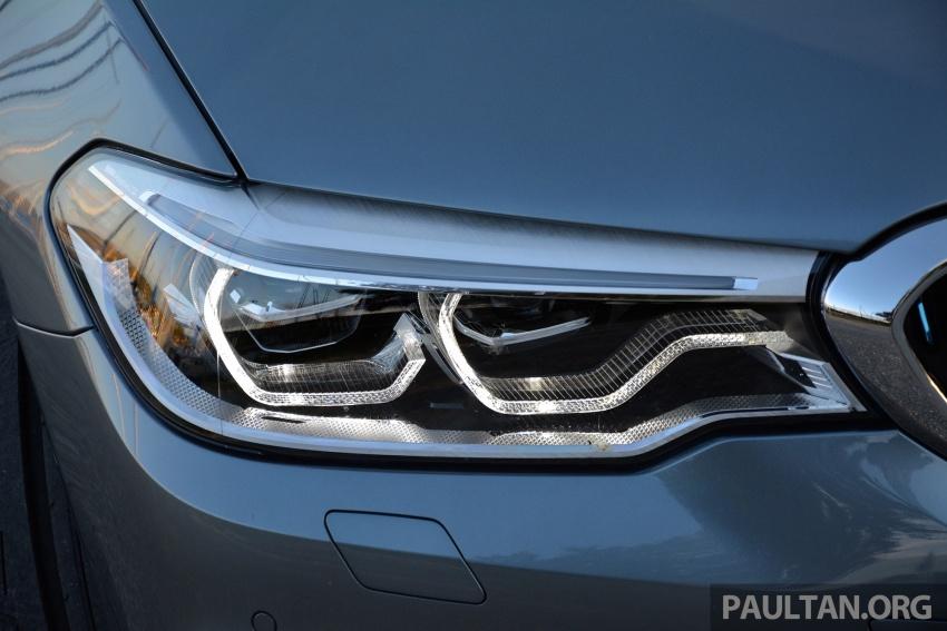 DRIVEN: G30 BMW 530e iPerformance plug-in hybrid Image #758382