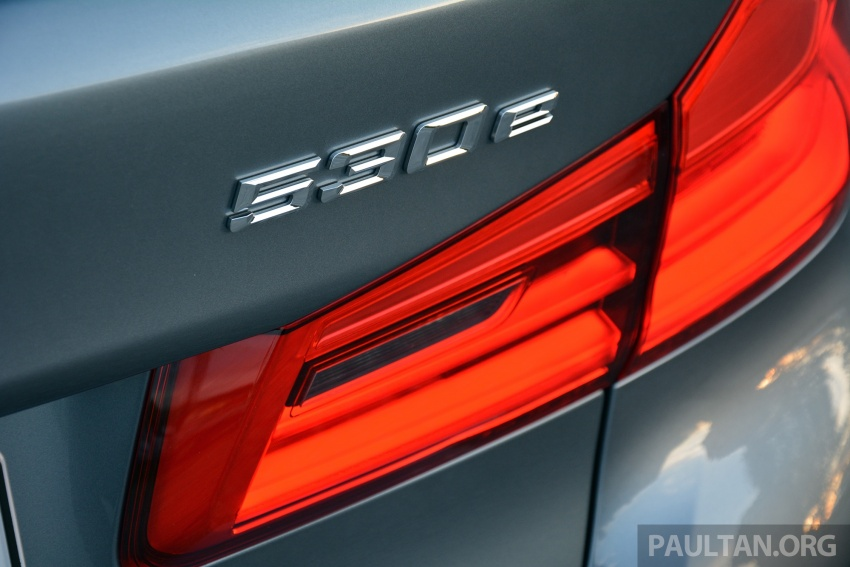 DRIVEN: G30 BMW 530e iPerformance plug-in hybrid Image #758390