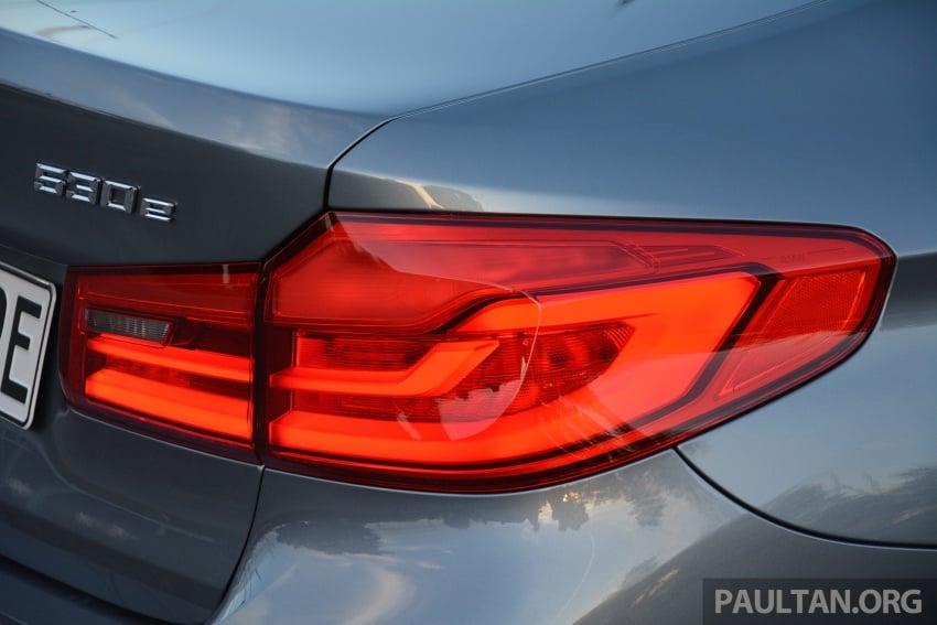 DRIVEN: G30 BMW 530e iPerformance plug-in hybrid Image #758391