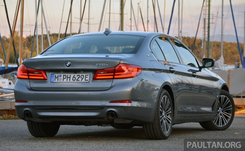 DRIVEN: G30 BMW 530e iPerformance plug-in hybrid Image #758354